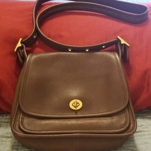 Coach Rambler Legacy Flap Crossbody